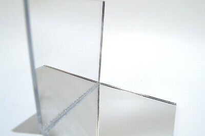 3mm Silver Acrylic Mirror Perspex Cut To Size For Lasercutting, Displays Etc • 9.06£