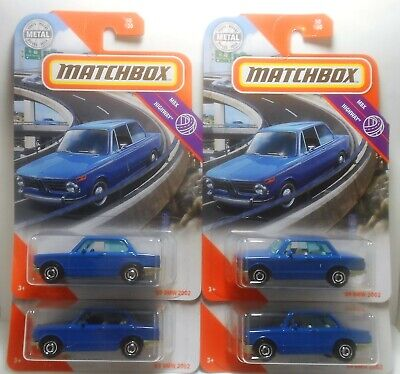 $6.99 • Buy Matchbox 2020 '69 Bmw 2002 Lot Of 4 Mbx Highway 50/100 All Mint On Card