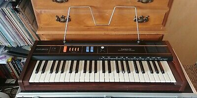 $160 • Buy Casio CT-101 Casiotone Vintage Poly Keyboard & Case - Tested - Cherry Condition