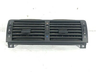 $54 • Buy OEM 01-06 BMW E46 330xi FRONT CENTER DASHBOARD AC HEATER AIR VENT GRILL GRILLE