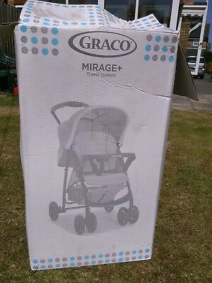 BNIB Graco Mirage Plus Travel System • 100£