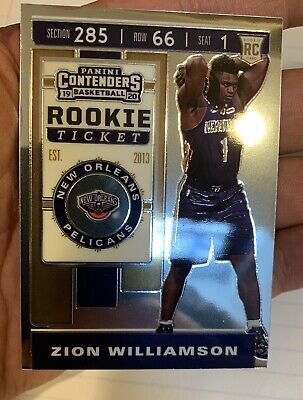 "$499.99 • Buy 2020 Contenders Zion Williamson Rookie Ticket Premium Edition ""very Rare"""