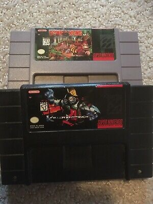 $ CDN35 • Buy Super Nintendo Snes Games Lot Of 2 Donkey Kong Killer Instinct