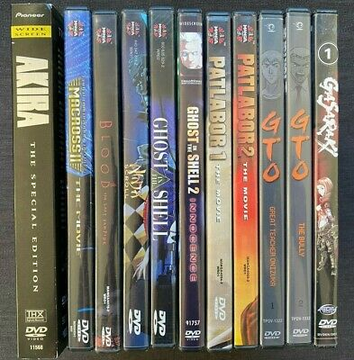 $ CDN38 • Buy Lot Of 11 Anime DVDs