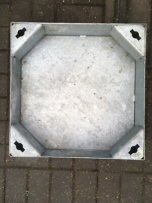 Heavy Duty Steel Recessed Manhole Cover NEW • 10£