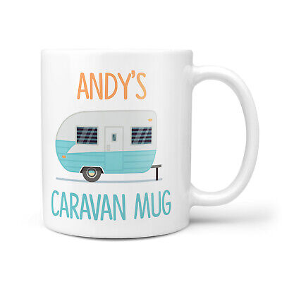 Personalised Caravan Gift Mug For Him Her Grandad Grandma Gifts 10oz Mug • 9.95£