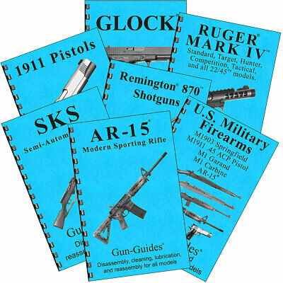 $8.99 • Buy Gun-Guides Book Select 1 Of 26 Titles Ruger 22 GLOCK AR &15 Smith Remington M&P