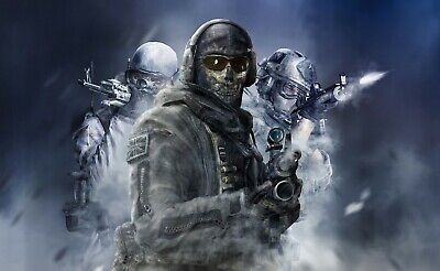£17.99 • Buy Call Of Duty Ghost 20x30INCHES Wall Art Canvas UK Seller Free Post Limited Stock