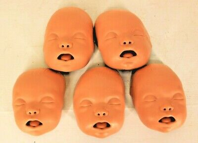 £25.06 • Buy Lot Of 5 Ambu Baby Manikin CPR Dummy Face Replacement Training EMT First Aid