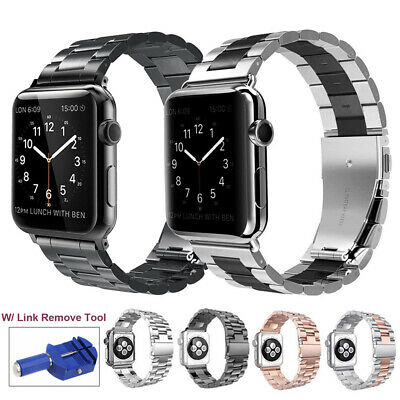 $ CDN10.68 • Buy Stainless Band Watch Strap For Apple Watch IWatch 5/4/3/2 Bracelet 38/40/42/44mm