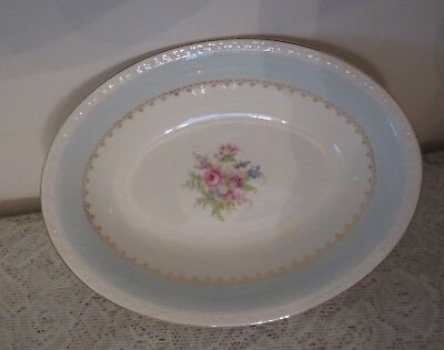 $24.99 • Buy Homer Laughlin Georgian Blue Chateau Oval Vegetable Bowl -  Excellent