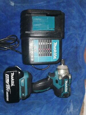Makita DTW285Z 18V Li-ion Cordless Brushless Impact Wrench 1/2  Body Only • 120£
