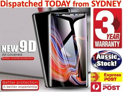 AU6.04 • Buy For Samsung Galaxy S20 S9 S10 S7 Edge S8 J5 Note Tempered Glass Screen Protector