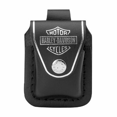 $13.95 • Buy Zippo Harley Davidson Genuine Leather Lighter Pouch, New In Box