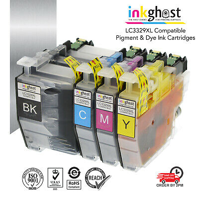 AU48.16 • Buy LC3329XL PIGMENT Compatible Ink Cartridges For Brother MFC-J6935DW Printer