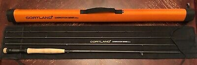 $619.99 • Buy Cortland MKII Competition Nymph 11 FT #3 WT Fly Rod - Hard Travel Case Included