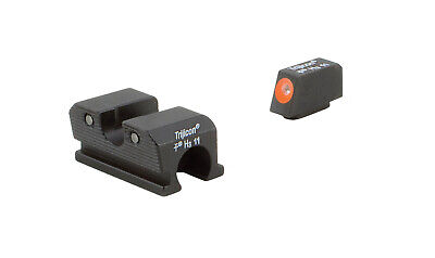$127 • Buy Trijicon HD Night Sights For Walther P99 PPQ M2 Orange Outline WP101-C-600738