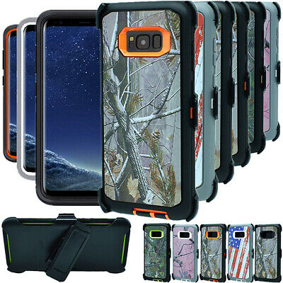 $ CDN15.76 • Buy For Samsung Galaxy S8 S8+ Plus Shockproof Hard Case Clip Fits Otterbox Defender