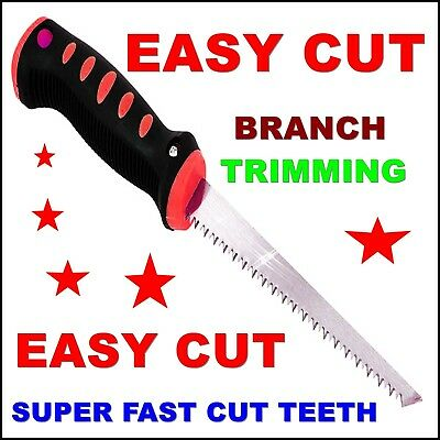£4.86 • Buy Garden Saw Fast Cut Easy Branch Trimming Pruning Tree Shaping Cutting Tool Sharp