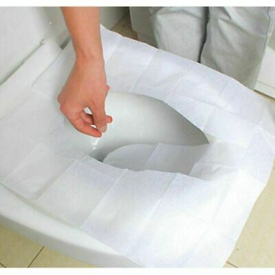 £5.99 • Buy 60 X Toilet Seat Covers Paper Travel Flushable Hygienic Disposable Sanitary
