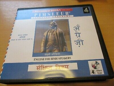 £24.99 • Buy Pimsleur Language Programs, English For Hindi Speakers,one Owner