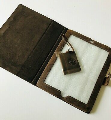 £12.95 • Buy Dbramante 1928 Pure Leather Hunter Brown Slip In Case To Fit IPad 2/3/4