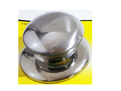 1xPCS  Pot/Pan Lid Cover Handle Replacement Knobs Cookware All Metal  • 1.75£