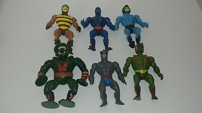 $74.99 • Buy Vintage MOTU He-Man Masters Of The Universe 80's Action Figure Lot Of 6