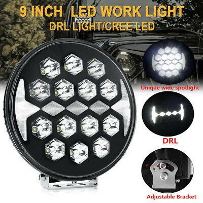 AU128.70 • Buy 9inch 150W CREE LED Work Light Round Spot DRL Driving Fog Offroad ATV SUV Truck