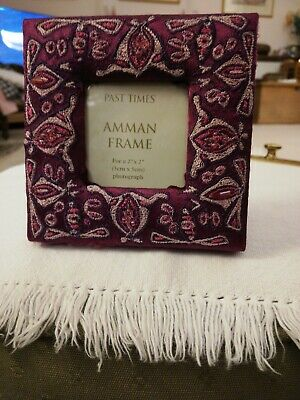 New Past Times Miniature Picture Frame • 5.50£