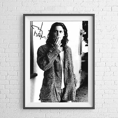 AU9.95 • Buy JOHNNY DEPP HOLLYWOOD MOVIE STAR POSTER PICTURE PRINT Sizes A5 To A0 **NEW**