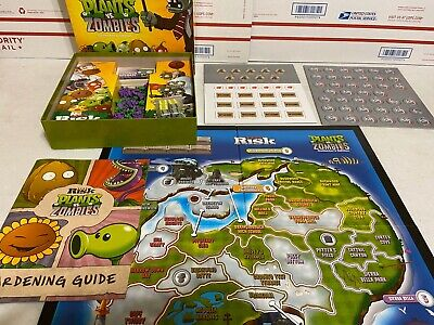 $33.99 • Buy Risk Board Game Plants Vs. Zombies Collector's Edition 100% COMPLETE! Clean LOOK