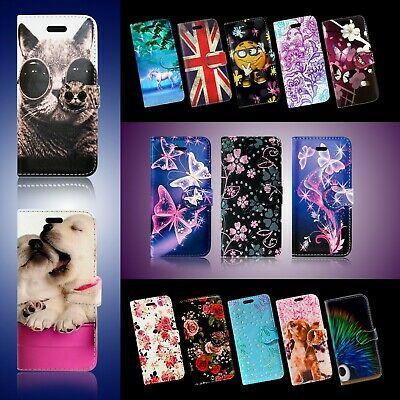 For Samsung Galaxy A6 A8 A9 J6 J8 2018 Series Wallet Book Phone Safe Case Covers • 3.84£