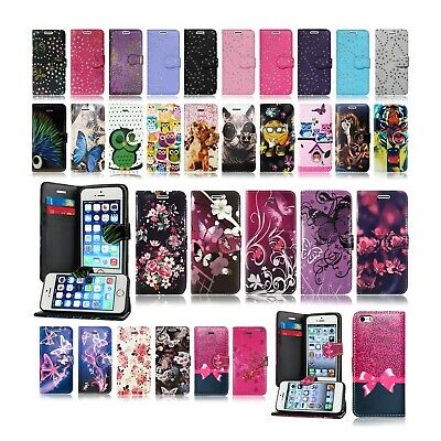 For Apple Iphone 6 Plus 7 Plus 8 Plus Wallet Book Flip Leather Phone Case Covers • 3.81£