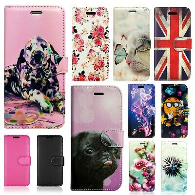 £3.92 • Buy For Huawei Honor 6x 8x 9 10 Wallet Book Phone Fon Card Slot Full Safe Case Cover
