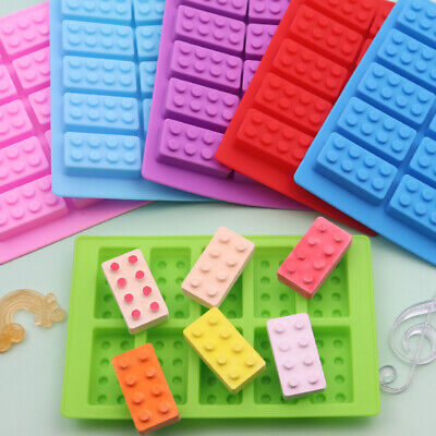 Building Bricks Construction Blocks Silicone Mould Chocolate Fondant Jelly Mold • 2.37£