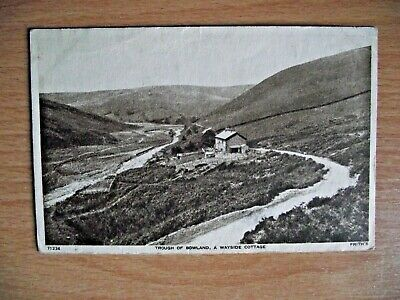 £1 • Buy Vintage Frith Postcard Of Trough Of Bowland, A Wayside Cottage