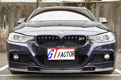 AU488.24 • Buy Carbon Front Lip Spoiler Vr Style For Bmw F30 F31 3 Series M Tech M Sports Only