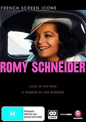 AU29.95 • Buy Romy Schneider - Love In The Rain & Woman At Her Window (2 DVD) Rare OOP French!