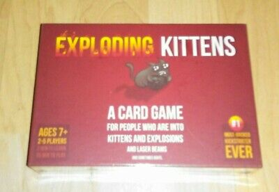 AU44.37 • Buy Exploding Kittens Card Game! First Edition.