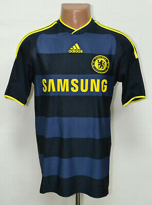 Chelsea London 2009/2010 Away Football Shirt Jersey Adidas Size S Adult • 39.99£