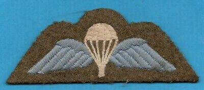 Wwii British Forces Paratrooper Cloth Wings  • 40£