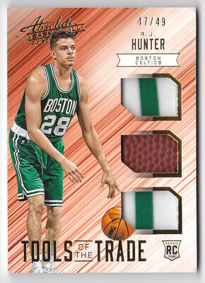 AU9.99 • Buy 2015-16 Absolute Tools Of The Trade Rookie Trio Prime R.J. Hunter Jersey #47/49