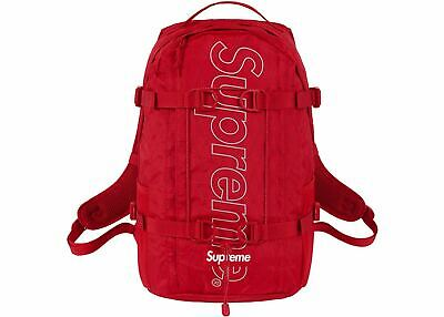 $ CDN512.63 • Buy Supreme Backpack Red FW18  Summer 100% Authentic Bag School Travel