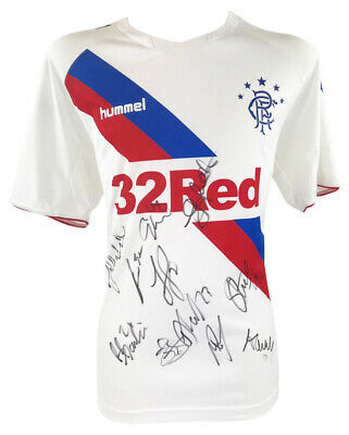 Signed Glasgow Rangers Jersey - Fully Autographed Shirt +COA • 149.99£