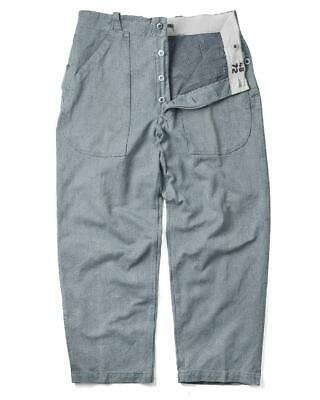 Vintage Swiss Prison Trousers - Vintage Jeans Denim Army Surplus Pants Military • 12.99£