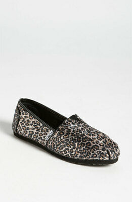 $22.49 • Buy TOMS Classic Panthera Sequin Leopard Flats ~  Nordstrom Exclusive ~ Size 7
