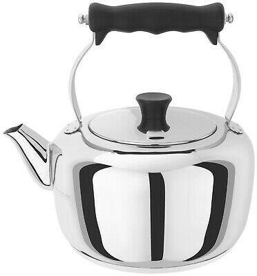 Stellar Stove Top Stainless Steel Traditional Kettle 2.0L - Brand New & Boxed • 59.50£