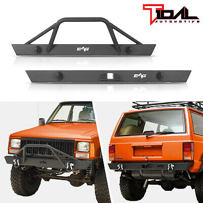 $499.99 • Buy Tidal Fit For 84-01 Jeep Cherokee XJ Off-road Front Bumper And Rear Bumper