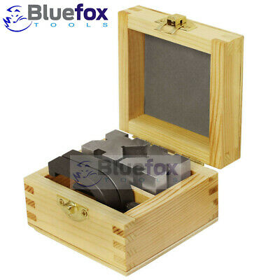 £34.20 • Buy Precision Engineers Vee Blocks Clamp Set - V Block Matched Pair Wooden Box